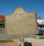 Lumpkin and Stewart County Marker, Lumpkin, GA