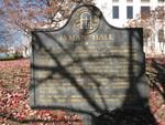 Lyman Hall Marker, Gainesville, GA