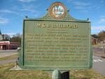 M & B Railroad Marker (Reverse), Blountstown, FL