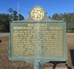 Macedonia Missionary Baptist Church / Middle FL Missionary Baptist Association Marker, Madison County, FL