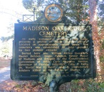 Madison Oak Ridge Cemetery Marker, Madison, FL by George Lansing Taylor Jr.