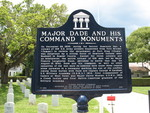 Major Dade Command Monuments Marker, St. Augustine, FL by George Lansing Taylor Jr.