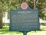 Town Marker, Markland, St. Augustine, FL