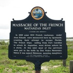 Massacre of the French Marker, Matanzas Inlet, Summer Haven, FL by George Lansing Taylor Jr.