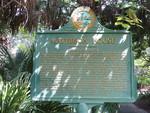 Matheson House Marker (Reverse), Gainesville, FL