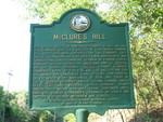 McClure's Hill Marker, Fernandina Beach, FL