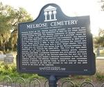 Melrose Cemetery Marker, Melrose, FL