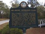 Melrose Women's Club Marker, Melrose, FL