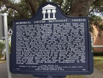 Memorial United Methodist Church Marker, Fernandina Beach, FL