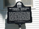 Methodist Episcopal Church South Marker, Apalachicola, FL by George Lansing Taylor Jr.