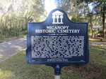 Micanopy Historic Cemetery Marker, Micanopy, FL by George Lansing Taylor Jr.