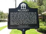 Micanopy Marker (Obverse), Micanopy, FL by George Lansing Taylor Jr.