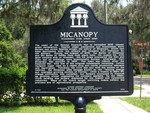 Micanopy Marker (Reverse), Micanopy, FL