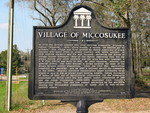 Village of Miccosukee Marker, FL