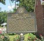 Minnie F. Corbitt Memorial Museum Marker, Pearson, GA