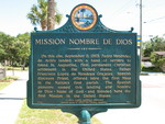 Mission Nombre De Dios Marker, St. Augustine, FL
