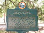 Mission of San Juan del Puerto Marker (Reverse), Fort George Island, FL