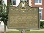 Montgomery County Marker, Mt. Vernon, GA