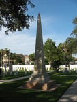 Monument - Soldiers Graves- FL Indian wars, St. Augustine, FL