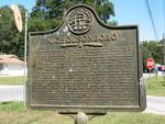 Nicholsonboro Marker, Nicholsonville, GA