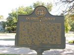 Oconee County Marker, Watkinsville, GA