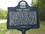 Ogden School Marker, Bland, FL