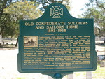 Old Confederate Soldiers and Sailors Home Marker, Jacksonville, FL by George Lansing Taylor Jr.