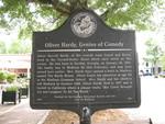 Oliver Hardy Marker, Madison, GA