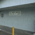 Post Office Sign, Cedar Key, FL