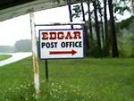 Post Office Sign, (32148) Edgar, FL