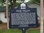 Palm Valley Marker, FL by George Lansing Taylor Jr.