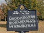 Philips - Craig Swamp Cemetery Marker, Jacksonville, FL