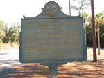 Site of Phosphate Discovery in FL Marker, Dunnellon FL