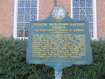 Pioneer Hickstown Baptist Church Marker, Madison FL by George Lansing Taylor Jr.