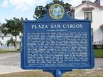 Plaza San Carlos Marker, Fernandina Beach, FL