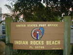 United States Post Office Sign (33785) Indian Rocks Beach, FL