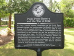 Point Peter Battery and the War of 1812 Marker, St. Marys, GA by George Lansing Taylor Jr.