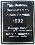 Post Office (32229) Plaque Jacksonville, FL