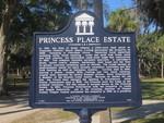 Princess Place Estate Marker, Flagler Co., FL by George Lansing Taylor Jr.