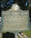 Public Market Place Marker, St. Augustine, FL