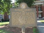 Putnam Co Marker, Eatonton GA by George Lansing Taylor Jr.