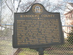 Randolph Co Marker, Cuthbert GA