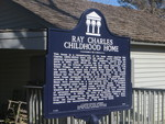 Ray Charles Childhood Home Marker, Greenville, FL by George Lansing Taylor Jr.