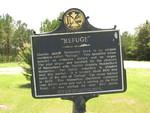 Refuge Marker, Decatur Co., GA