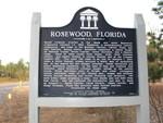 Rosewood Marker (Obverse), Rosewood, FL