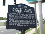 Sanford State Farmers' Market Marker (Obverse), Sanford, FL