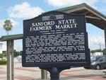 Sanford State Farmers' Market Marker (Reverse), Sanford, FL