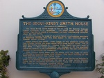 Segui-Kirby Smith House Sign, St. Augustine, FL by George Lansing Taylor Jr.