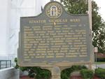 Senator Nicholas Ware Marker, Waycross, GA