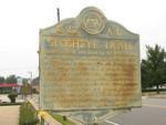 Slosheye Trail Marker, Hawkinsville, GA